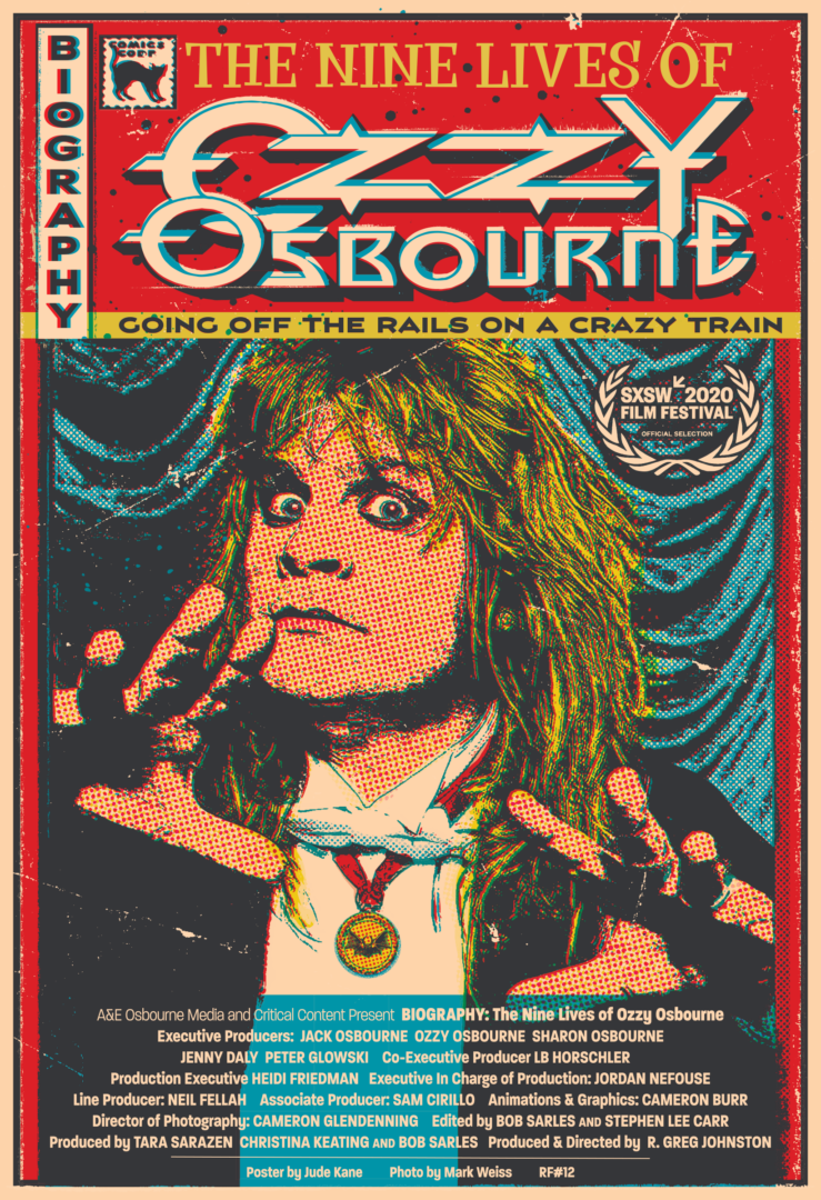 OZZY Comic-Poster